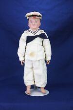 Antique Rare Martha Chase Oil Cloth Doll