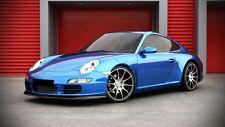 Spoiler Lippe für Porsche 911 Typ 997 Bj. 04-09 Front Schwert Diffusor Ansatz