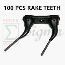 100 Pack Wheel Rake Teeth Tooth For Circle C Darf Farmland Hamps Morrill New Idea