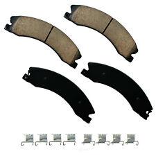 Disc Brake Pad Set-Performance Ultra Premium Ceramic Pads Rear,Front Akebono