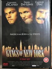 Leonardo DiCaprio gangs de NEW YORK ~2002 Scorsese Crime Épique 2-Disc GB DVD