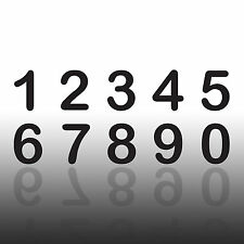 Selbstklebende Zahlen Hausnummer Briefkasten Startnummer Mülltonne Hotelzimmer