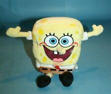 "Spongebob Squarepants Bean Bag 8"" Big Smiley Face Plush Stuffed Soft Toy Small"