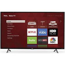 TCL 49-Inch Full HD 1080p 120Hz Roku Smart LED TV/3x HDMI (2017 Model) | 49S305