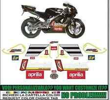 kit adesivi stickers compatibili  rs 125  chester biaggi 1995
