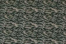 Lycra grigio-verde scuro con striature STOFFA AL METRO TESSUTO A METRAGGIO