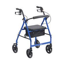 Drive R6 Lightweight Rollator 4 Wheel Walker Mobility Walking Zimmer Frame