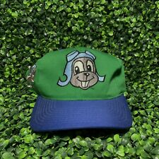 VTG 90s The Adventures Of Rocky And Bullwinkle Snapback Hat 1993 Annco Blockhead