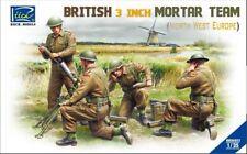 Riich 1/35 RV35022 British 3 inch Mortar Team (North West Europe)