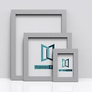 SILVER Picture Frames Square Photo Modern Poster Frame A1 A2 A3 A4 A5