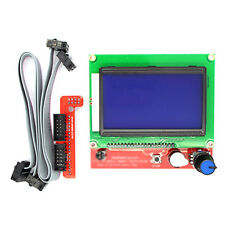 For Reprap RAMPS1.4 12864 LCD display controlle + adapter Mendel 3D Printer Kit