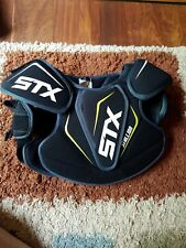 STX Lacrosse Stallion 50 Youth Shoulder Pad, Black medium used less than 10 time