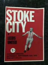 First Division Home Teams S-Z Football Programmes