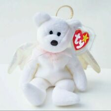 Ty Beanie Babies Halo the Angel Bear Toy