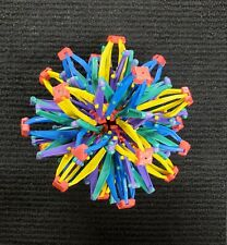 Mini Hoberman Sphere - Expanding/Collapsible Multi-Color Toy Ball 5-12""