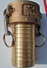 PT Coupling 25C HB Brass Cam & Groove  2-1/2 Inch  Weight 4.324 lbs New #1290325