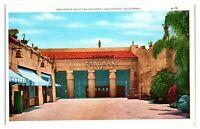 Grauman's Egyptian Theatre, Hollywood, CA Postcard *5Q13
