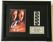 More details for x-files limited edition original filmcell memorabilia coa