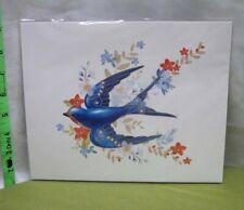 Edythe Kegrize Barn Swallow collectible print Hallmark art Beauty of Birds new