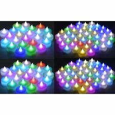 Color Changing Flameless LED Tealight Candles  Tea Light Candle144pcs LCL-C144