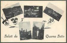 VERBANIA QUARNA SOTTO 09 SALUTI da...  COSTUME Cartolina