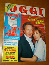 OGGI=1986/22=LORY DEL SANTO=MARIANNINA GIULIANO=GIANNI RAVERA=LINDA CHRISTIAN=