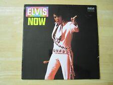 Elvis Presley LP, Elvis Now, RCA # LSP-4671, Made in Germany