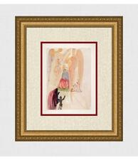 "1960 Salvador DALI Original Woodcut ""The Triumph of Christ & Virgin"" FRAMED COA"