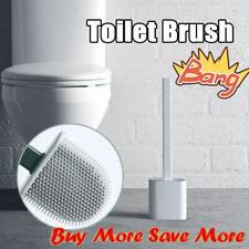 Silicone Toilet Brush Toilet Brush Holders Creative Cleaning Brushs Set Hot