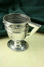 Copa Plata S.XVII Rara.Pieza única. Espectacular. Silver Cup. Weird.Unique piece