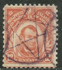 U.S. Possession Philippines stamp scott 295 - 12 cents Lincoln 1917 issue - #10