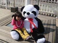 "Giant Huge Big 47"" Panda Teddy Bear Plush Soft Cuddly Valentine Branded Soft Toy"