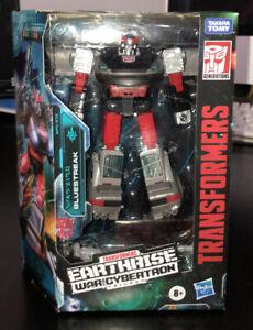 Hasbro Transformers Earthrise War for Cybertron Deluxe Bluestreak Action Figure