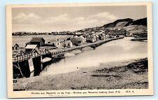 *Riviere-au-Renard Gaspe Peninsula Quebec Canada Vintage Postcard B62