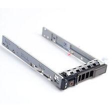 "Original 2.5"" SAS SATA Hard Drive Tray Caddy For Dell PowerEdge R710 US Seller"