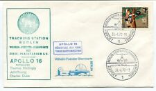 1972 Apollo 16 Trackin Station Berlin Wilhelm Foerster Sternwarte Zeiss SPACE