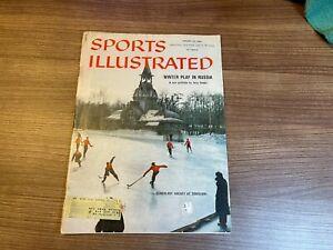 1960 Sports Illustrated Magazine SCHOOLBOY HOCKEY - 01/25/1960