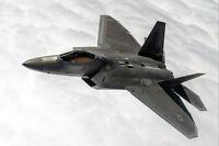 F-22A RAPTOR RED FLAG 15-3 NELLIS AIR FORCE BASE NEVADA 8x12 SILVER HALIDE PHOTO