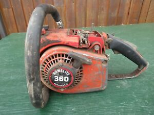 Vintage HOMELITE 360 AUTOMATIC Chainsaw Chain Saw