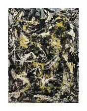 "POLLOCK JACKSON - NUMBER 5, 1950, 1950 - ART PRINT POSTER  11"" x 14""(4368)"