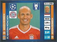 PANINI UEFA CHAMPIONS LEAGUE 2013-14- #231-BAYERN MUNICH-ARJEN ROBBEN
