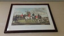 """ENGRAVED CR STOCK FOX HUNTING ART PRINT W. SHAYER """"THE MEET""""  HUNTING DOGS"""