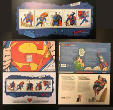 2013 CanadIan SUPERMAN Stamp Collection Set