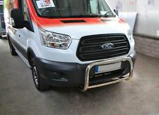 Bull Bar For 2014+ Ford Transit MK8 Nudge Chin Low A Bar Stainless Steel Bumper