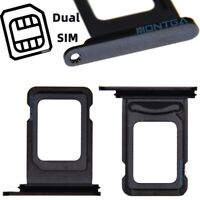 Rack Tiroir Carte Dual SIM Apple iPhone 11 Pro Noir