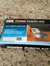 Northern Industrial Tools Power Punch Kit, item # 14572