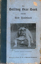 Bulldog Year Book and Handbook, 1932, EXTREMELY RARE
