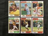1974 Topps Complete Set And 1976 Topps Complete Set Mid To High Grade Baseball