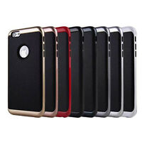 Luxury Ultra-thin Shockproof Armor Back Case Cover For iPhone 5S SE 6 6S Plus