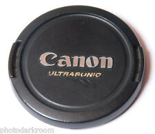 Canon E 58mm Lens Cap - Ultrasonic - Plastic - Taiwan - USED C043